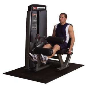 Body Solid Pro Dual Leg Extension/Leg Curl DLEC SF: Sports