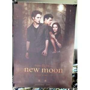 Twilight Movie New Moon sequel ORIGINAL promo POSTER 15 x