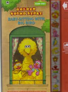for Baby sitting With Big Bird (Sesame Street Golden Sound Story