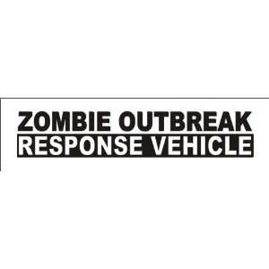 ZOMBIE OUTBREAK RESPONSE VEHICLE decal sticker, Forest