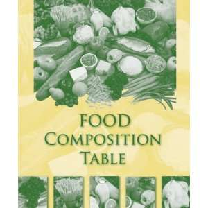 Food Composition Table (9780073402567) Higher Education