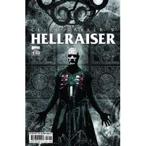 Hellraiser #1 Second Print Variant Clive Barker Books