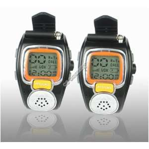 WCI Quality Pair of Wrist Watch Two Way Radios, Multi