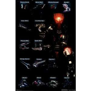 Halo 3 (Chart, Covanant) Video Game Poster Print
