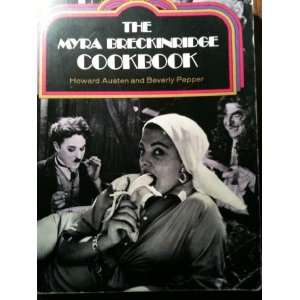 THE MYRA BRECKINRIDGE COOKBOOK With Photos of Movie Stars
