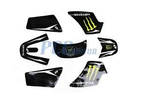 MONSTER GRAPHICS DECAL STICKERS YAMAHA PW50 PW 50 DE39