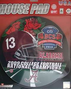 NEW ALABAMA TIDE BCS National CHAMPIONS 2009 Mouse Pad