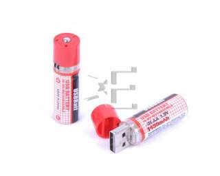 New USB Battery Cell Eco friendly Rechargeable AA Battery 1.2V 1450mAh