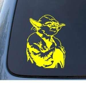 YODA   Star Wars Jedi   Car, Truck, Notebook, Vinyl Decal