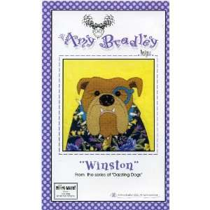 Winston (Quilt Block) (Dazzling Dogs): Amy Bradley: Books