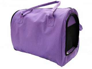 New Fashion Comfort Carrier Large Pet Dog Soft Travel Tote ( Purple )