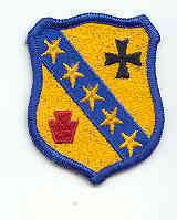 US ARMY PATCH   104TH ARMORED CAVALRY REGIMENT