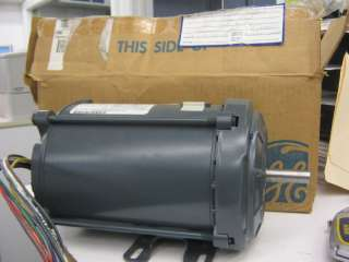 GE MOTOR 1/3 HP SINGLE PHASE 1140 RPM **NIB**