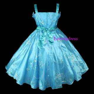 NEW Flower Girl Wedding Pageant Party Dress Outfit Children Wears