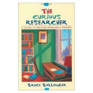 Research Papers (3rd Edition) (9780205319114): Bruce Ballenger: Books