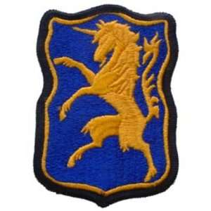 U.S. Army 6th Armored Cavalry Regiment Patch Blue & Yellow