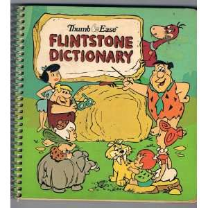 Thumb Ease Flintstone Dictionary Hanna Barbera Books