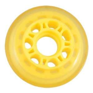 Como 72mm Dia Yellow Replacement Inline Skate Wheel Roller
