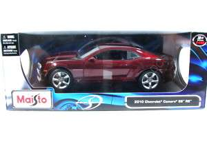 MAISTO 2010 CHEVROLET CAMARO SS RS BURGUNDY 1/18 CAR