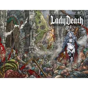 Lady Death #2 Variant Juan Jose Ryp Wraparound Cover