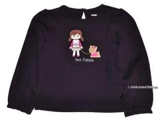 Gymboree Pups and Kisses Yorkie Dog Dress Jumper Shirt Pants Sweater