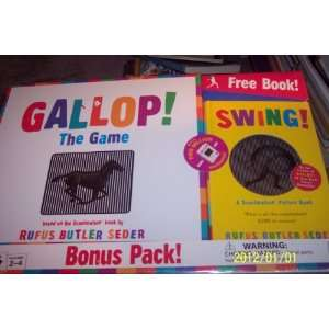 ! THE GAME BONUS PACK! free scanimation picture book! Toys & Games