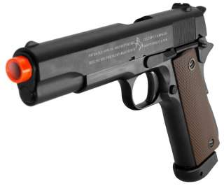 New METAL Colt M1911 A1 CO2 Airsoft Hand Gun 370 fps with blowback Gas