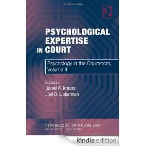 Psychological Expertise in Court 2 (Psychology, Crime and Law