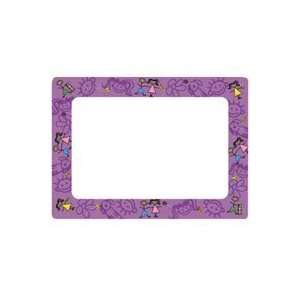 Picture Frame, Stick Figure Friends, Frame color Purple Office