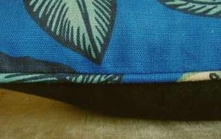 Josef Frank Brunschwig Fils Designer Fabric Custom Throw Pillows Blue
