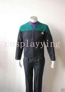 Star Trek Voyager Medical Uniform Costume Teal Custom
