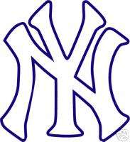 NEW YORK YANKEES Logo NY * Window WALL STICKER * Vinyl Car DECAL * ANY