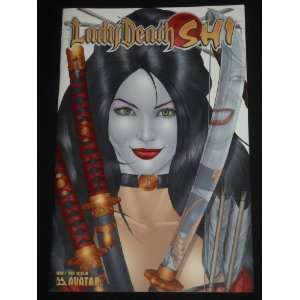 BRIAN PULIDOS LADY DEATH SHI #1 BILLY TUCCI COVER VARIANT