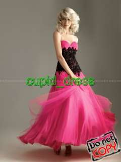 black&pink/Formal/Quinceanera/Prom dress/Evening dress