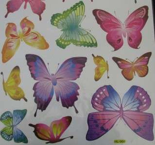 New Butterfly Wall Decor Removable Art Decal Stickers