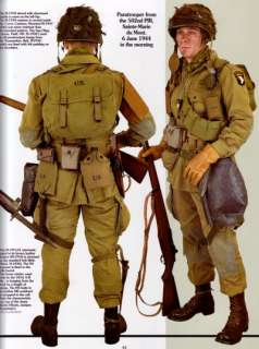 NEW UNUSED BOOK!!! SUPERB WORLD WAR TWO AMERICAN AIRBORNE UNIFORM