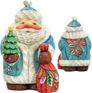 CHRISTMAS TREE SANTA #517623 New 2011 Free Ship DeBrekht Santa