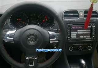 Steering Wheel trim 3pcs for VW Golf 6 MK6 2010 2012 polo 2011 2012