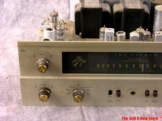 Vintage The Fisher 400 Stereo Integrated Amp Amplifier Tube Receiver