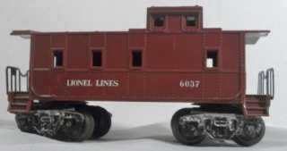 LIONEL 2026 TRAIN SET   ENGINE,TENDER, SUNOCO CAR 6035, 6037, 6032