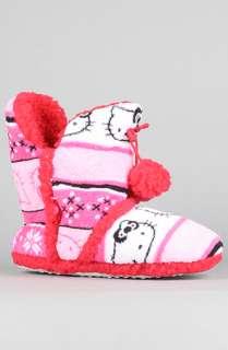 Hello Kitty Intimates The Hello Kitty Super Plush Bootie Hot Pink