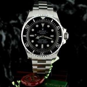 2012 Rolex SeaDweller DEEPSEA 116660 G ser Deep Sea ~FULL PLASTICS
