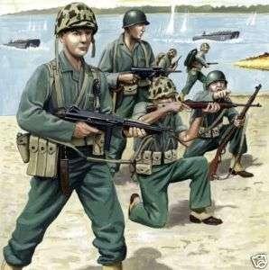 revell 172 us marine infantry wwII model figures 2506