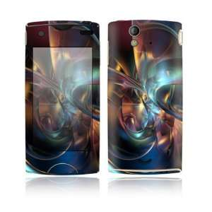Abstract Space Art Design Decorative Skin Cover Decal Sticker for Sony