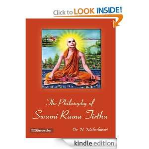 The Philosophy Of Swami Rama Tirtha: Dr. H. Maheshwari: