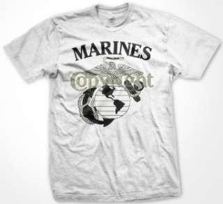 States Marine Corps T shirt, USMC Semper Fidelis Shirts Clothing