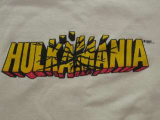 80s WWF HULK HOGAN HULKAMANIA SWEATSHIRT LARGE wrestling wwe t shirt