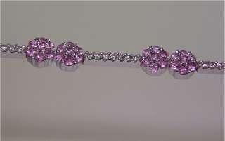Estate 3.10 Carat Natural Pink Ceylon Sapphire Diamond Vintage