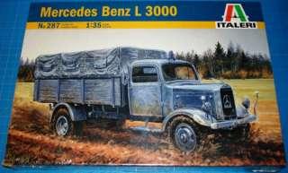 35 Mercedes Benz L 3000 German Standard Truck #287 ★