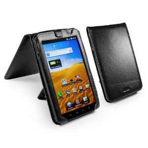 Style Leather Case Cover & Stand For Samsung Galaxy Tab P1000   Black